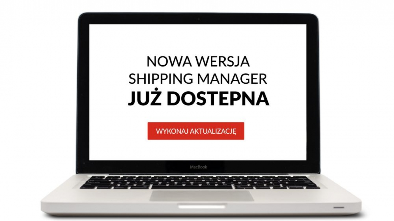 Nowa wersja Shipping Manager